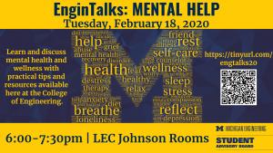 2.18.2020 EnginTalks: Mental Help