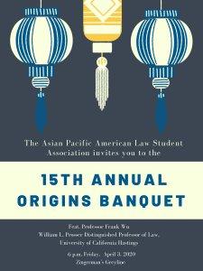 APALSA Origins Banquet 2020