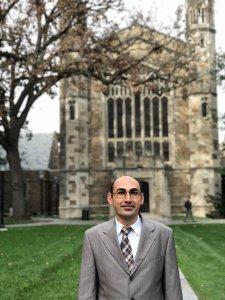 Aram Simonyan, Visiting Fulbright Scholar at the Ross School of Business, U-M