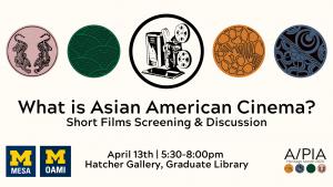 A/PIA Heritage Month Calendar: Asian American Cinema