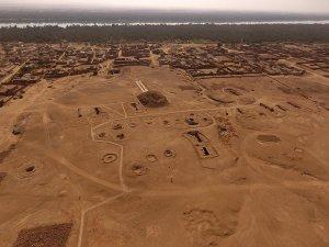 Drone photograph of El-Kurru