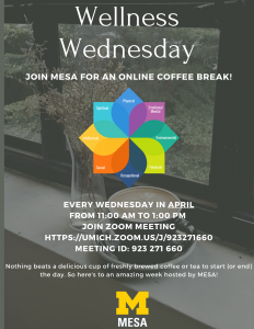 Wellness Wednesday Coffee Hour