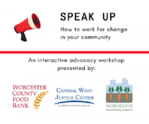 Speak Up graphic