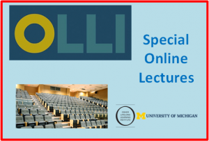 Special Online Lectures