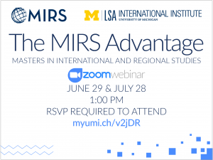MIRS Info Session