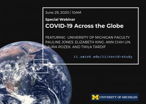 Special Webinar. COVID-19 Across the Globe