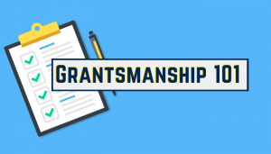 Grantsmanship 101 Webinar Series