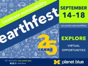 Earthfest September 14-18, 2020