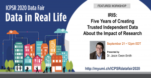 IRIS: Five Years of Creating Trusted Independent Data About the Impact of Research
