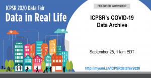 ICPSR's COVID 19 Data Archive