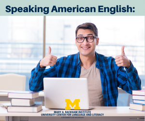 Speaking American English Graphic