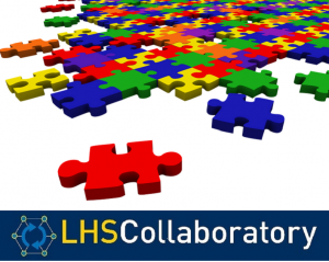 LHS Collaboratory Logo puzzle pieces