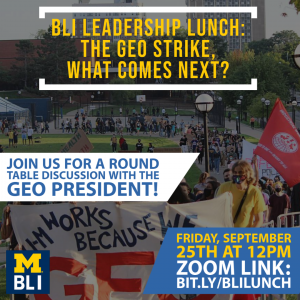 BLI Lunch and Learn