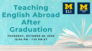 Teaching English Abroad After Graduation