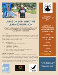 Living on Loss of Privileges flyer