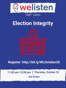 WeListen October 2020