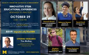 Faculty Forum STEM flyer