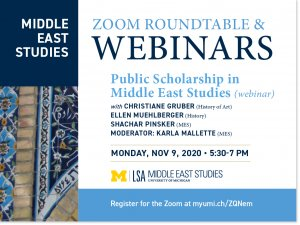Public Scholarship in Middle East Studies