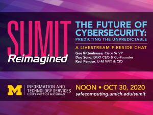 SUMIT Fireside Chat: The Future of Cybersecurity: Predicting the Unpredictable