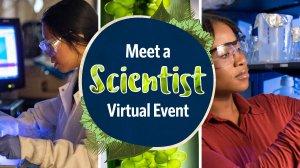 Meet a Scientist Virtual Event