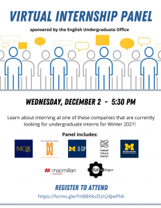Winter 2021 Internships