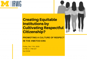 Creating Equitable Institutions by Cultivating Respectful Citizenship