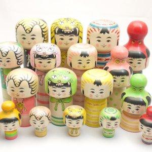 Takatoshi Hayashi, Maker of Kokeshi dolls