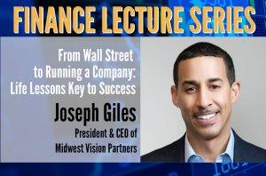 Joseph Giles: Finance Lecture Series Speaker #3