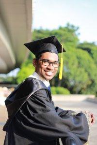 LSA student graduate
