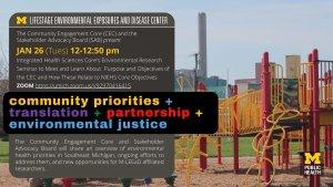 Jan 26 Environmental Priorities in SE Michigan