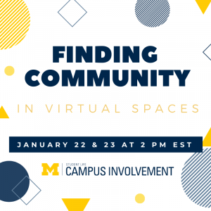 Finding Community in Virtual Spaces