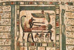 egyptian mummy scene