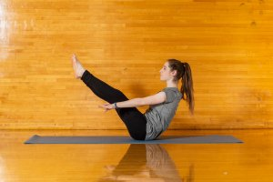 Pilates improves flexibility, builds strength and develops control and endurance in the entire body.