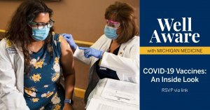 Person getting vaccinated against COVID-19