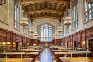 Law library at U. Michigan.