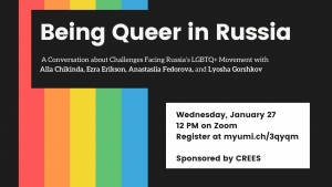 CREES Queer in Russia