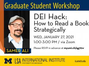 II Graduate Student Workshop banner