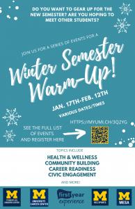 Winter Semester Warm-Up!