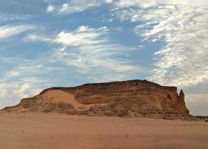 A view of Jebel Barkal in Sudan