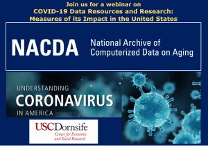 Announcement of ICPSR NACDA COVID-19 webinar