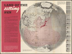 """""""Newsmap… Monday, December 27, 1943"""" from the Leventhal Map & Education Center"""