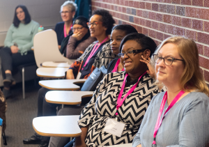 Women at the 2020 WCTF Career Conference