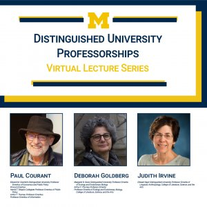Spring 2021 Distinguished University Professorship awardees and lecturers