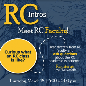 RC Intros flier