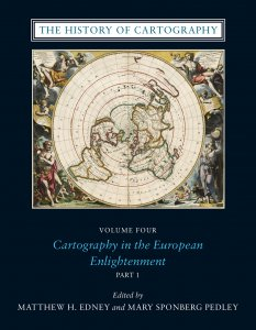 """Cover of """"The History of Cartography Volume 4"""""""