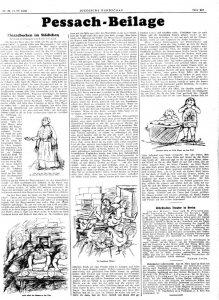 JR 1930 Nr29 Rahel Szalit - Pessach - pg 1