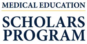 Medical Education Scholars Program