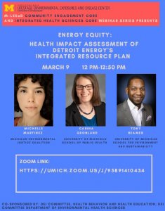 Energy Equity (Detroit) March 9 Webinar
