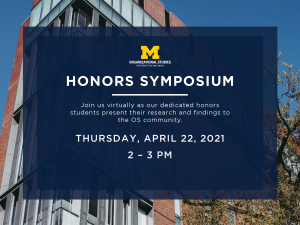 OS honors symposium event image