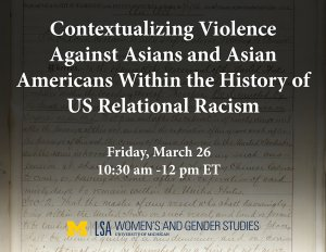Contextualizing Violence Against Asians and Asian Americans